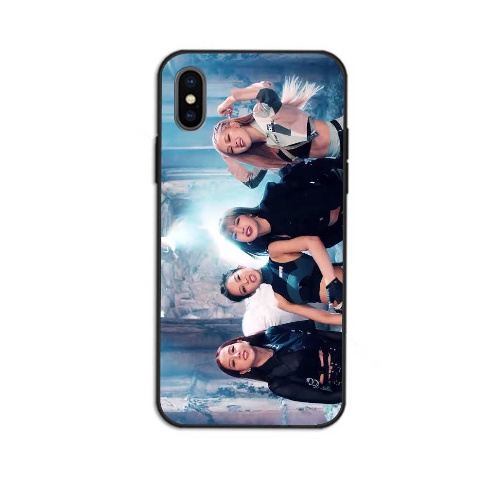 BLACKPINK Kill This Love tpu Fundas cover case For iphone 8 7 6 plus X Xs  Xr Xmax 5 for Samsung Galaxy 8 9 10 plus coque shell