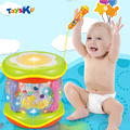 Baby Toy Musical Drum Fun Hand Pat LED Light Merry-go-round MP3  Instrument Toys for Kids