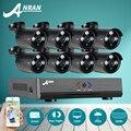 Вилки и Подключите ANRAN 1080N 8-КАНАЛЬНЫЙ ВИДЕОНАБЛЮДЕНИЯ DVR Kit AHD HD CCTV Камеры Безопасности Системы 720 P ИК Ночного Видения Открытый Survelliance Комплект