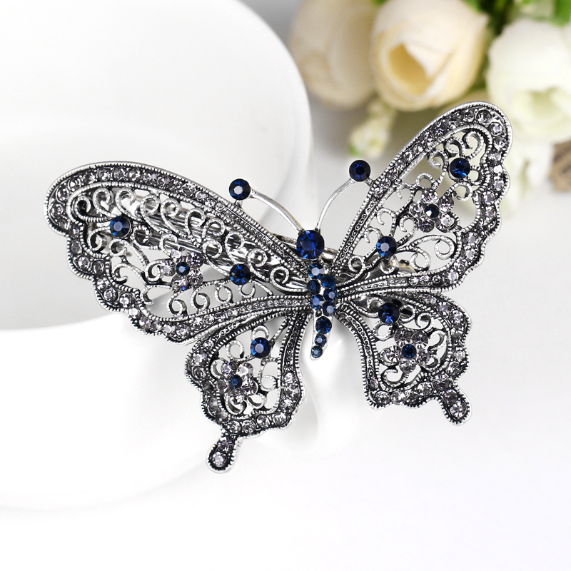 danbihuabi Fashion butterfly hair clip for women hair accessories trendy animal hairs accessoires jewelry china hair bow ...