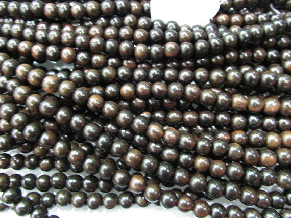 high quality 10mm 10strands genuine wood round ball black assortment jewelry spacer beadshigh quality 10mm 10strands genuine wood round ball black assortment jewelry spacer beads