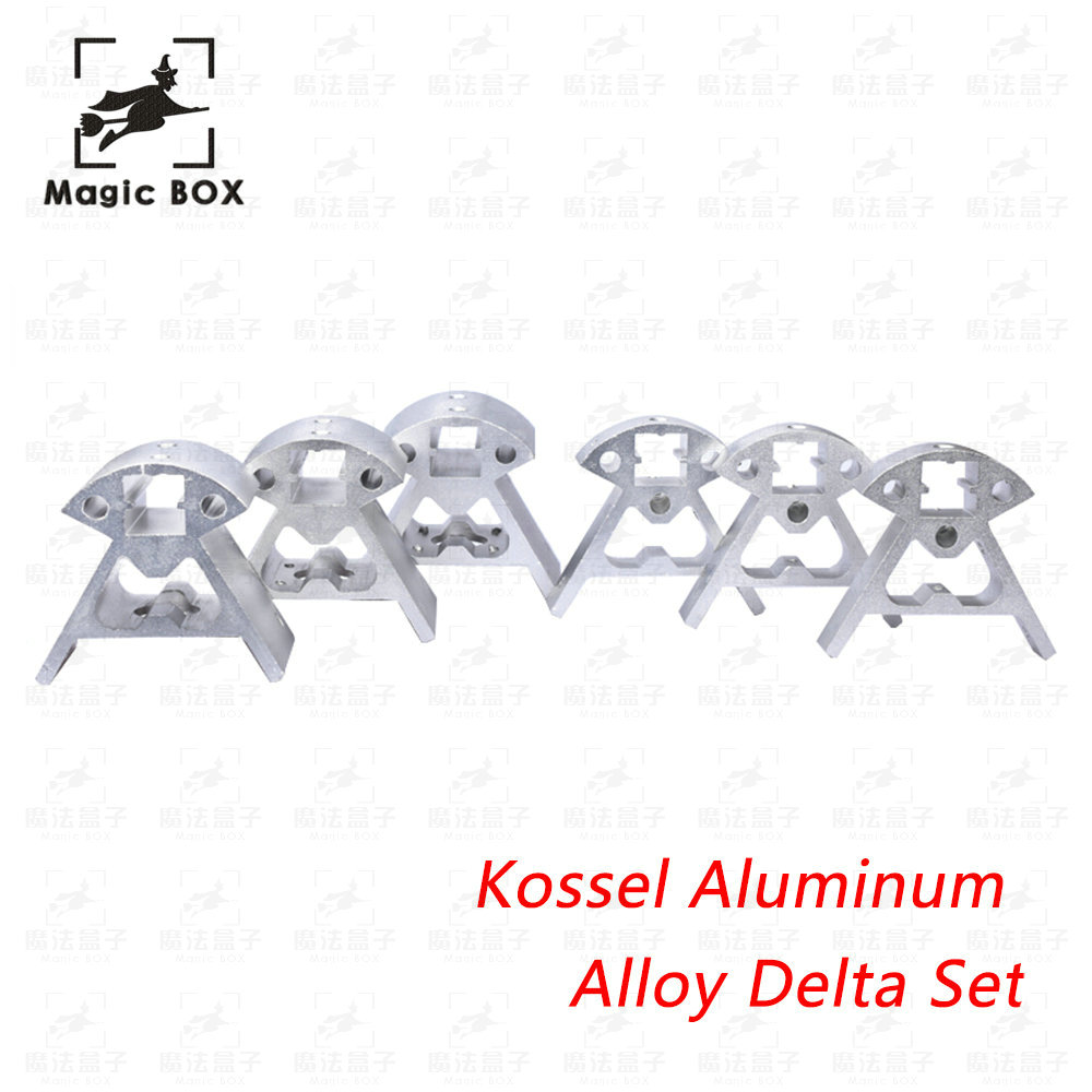 3d printer parts 1Set Full Metal Kossel aluminum alloy delta angle corner kit Kossel corner kit цена 2017