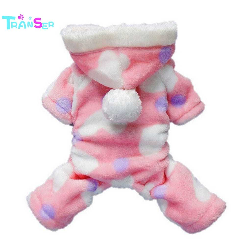 Transer Creative Hot! Pet Puppy Dog Cat Clothes Hoodie Coat Jumpsuit Costume ApparelDrop Shipping J8M30
