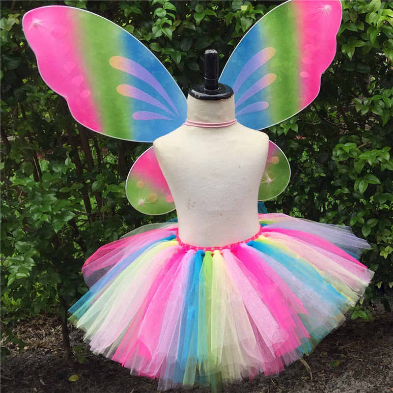 3cf7320cb Detail Feedback Questions about Baby Girls Rainbow Fairy Butterfly ...