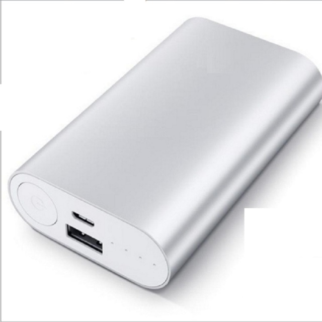 White Metal Power Bank