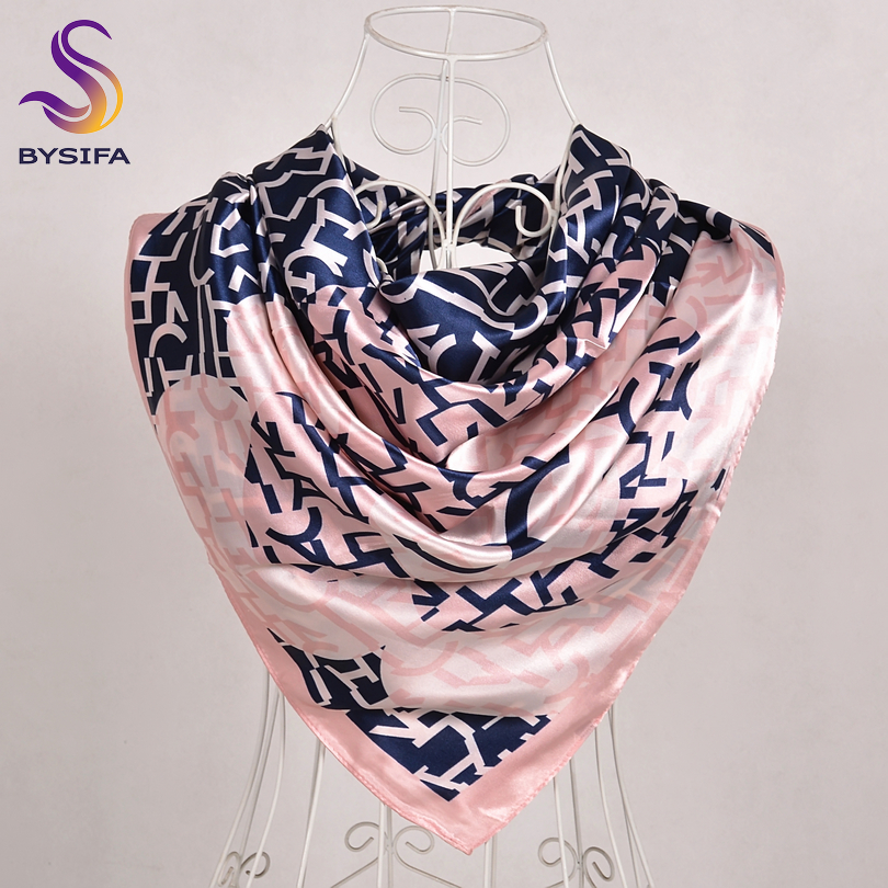 Women Snake Print Scarf Lady Satin Square Scarve Female Wrap Summer Winter Shawl