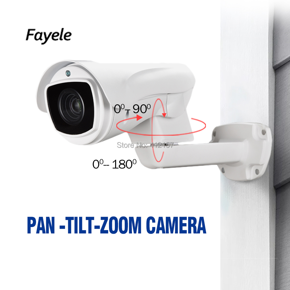 CCTV Security PTZ Camera AHD 1080P CVI TVI CVBS 4IN1 2mp Pan Tilt Zoom Bullet Camera 10X Optical Zoom IP66 Waterproof IR 80M cctv indoor 1080p 2 5 mini dome ptz camera sony imx323 ahd tvi cvi cvbs 4in1 2mp pan tilt 4x zoom day night ir 40m osd menu
