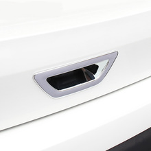Accessories FIT FOR 2014-2016 NISSAN XTRAIL X-TRAIL 32 ROGUE CHROME REAR TRUNK BOOT DOOR LID HANDLE BOWL COVER TAILGATE INSERT