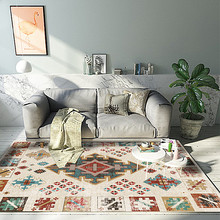 Alfombras de estilo marroquí americano para sala de estar alfombra de dormitorio para hogar sofá mesa de centro alfombra Vintage Bohemia alfombra para sala de estudio alfombra para suelo