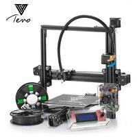 2018 TEVO Тарантул 3D принтеры Flex Авто Большой двойной MK3 алюминиевого профиля 3D принтеры комплект 2 рулона нить SD card ЖК дисплей как подарок