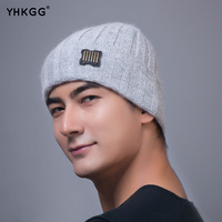 2016 YHKGG Unisex Acrylic Knit Hat Winter Hats Style Skullies Beanies For Woman And Man Hip