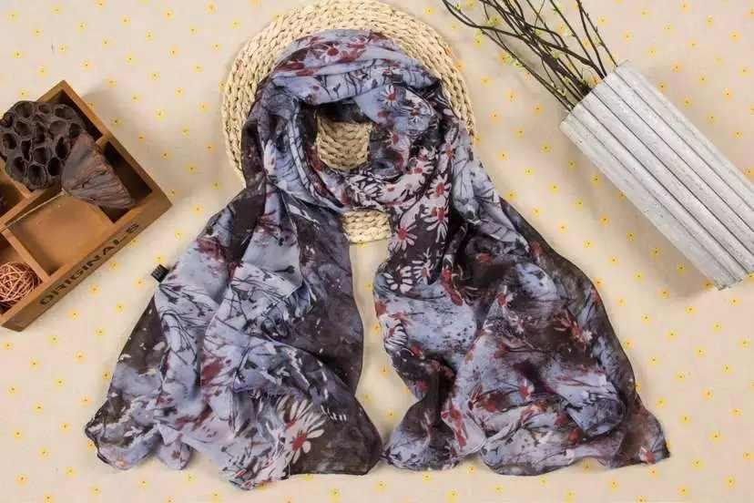 120 pz/lotto sun flower print scialle sciarpa pashmina/fiore sciarpe/sciarpa della spiaggia