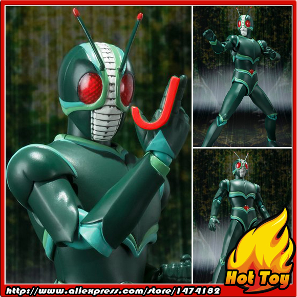 100% Original BANDAI Tamashii Nations S.H.Figuarts (SHF) Exclusive Action Figure - Masked Rider J from Masked Rider J