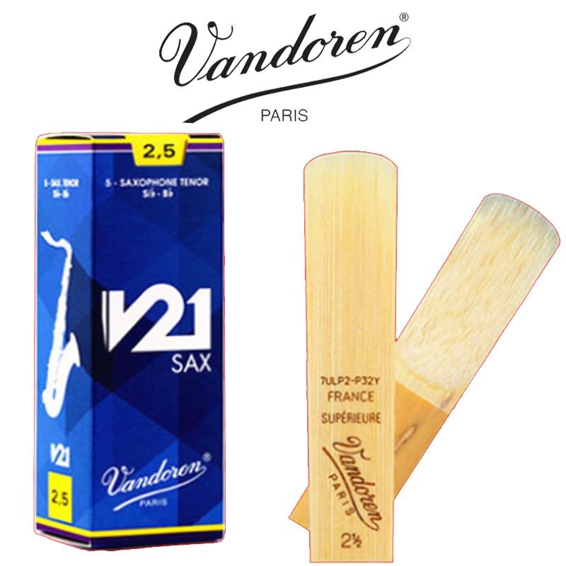 Brand New Original Vandoren V21 Tenor Saxophone Reeds 2 2.5 3 3.5 A Premium Versatile Reed датчик скорости для велосипеда brand new 3 a 3 a 7 sv006123