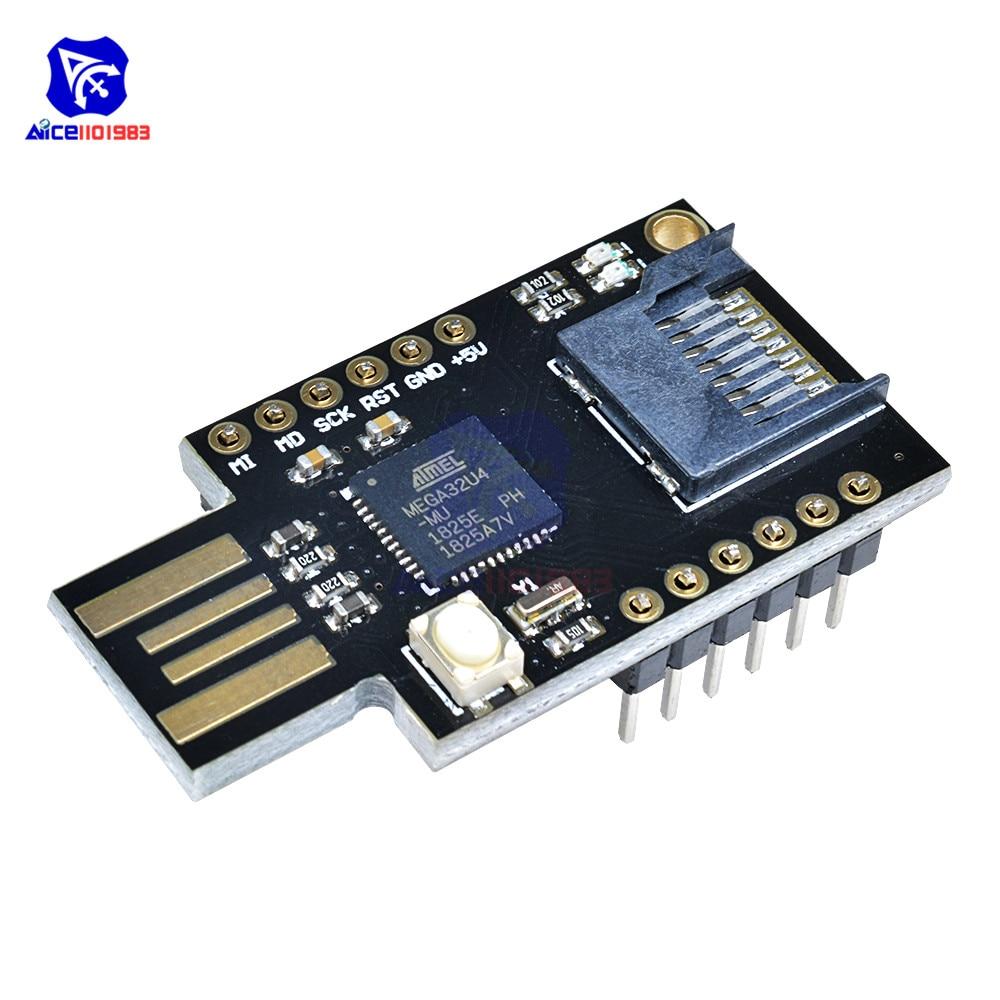 CJMCU-32 Virtual Keyboard Badusb For Arduino Leonardo USB ATMEGA32U4 NEW