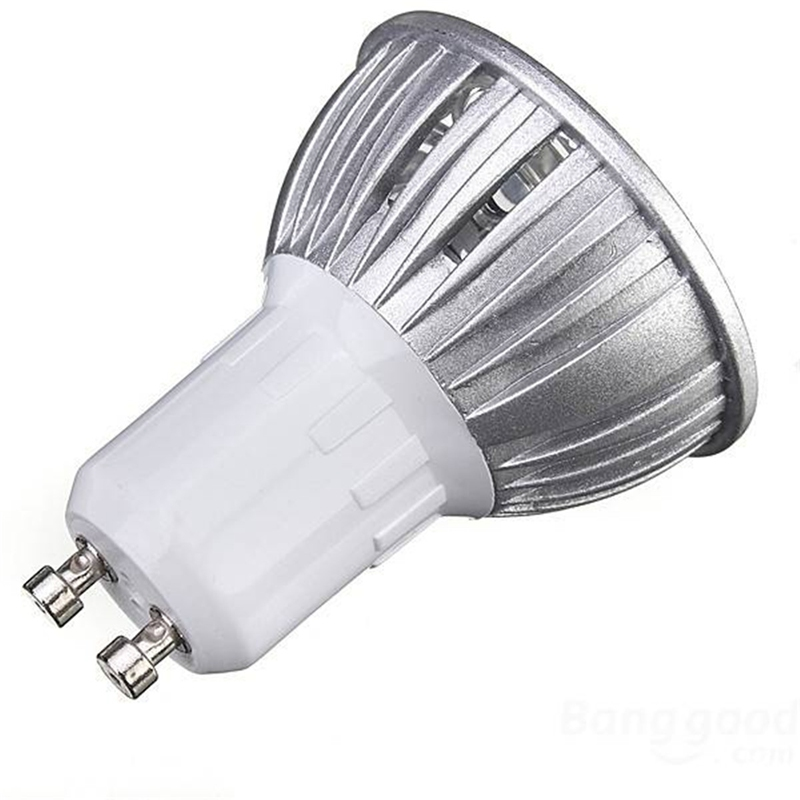 Wholesale Price Gu10 3w 3 Led High Power Spotlight Home Light Lamp Bulb Ac220v Red Blue Yellow