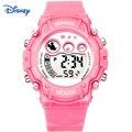 Disney kids relógios digital-relógio montre femme marque de data de luxo famosa marca rosa crianças meninas relógios reloj mujer gato