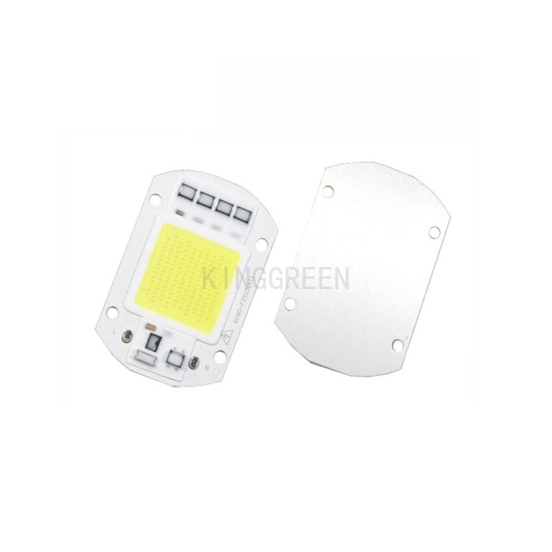 10X High quality 220V driverless power led 30W/50W newest integrated COB LED light source free shipping