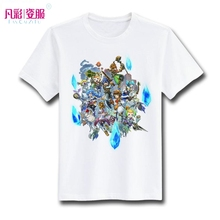 Final Fantasy T Shirt Design Inspired By Game Crystal Chronicles Echo Of Time T-shirt Cool Novelty Tshirt Men Women Printed Tee