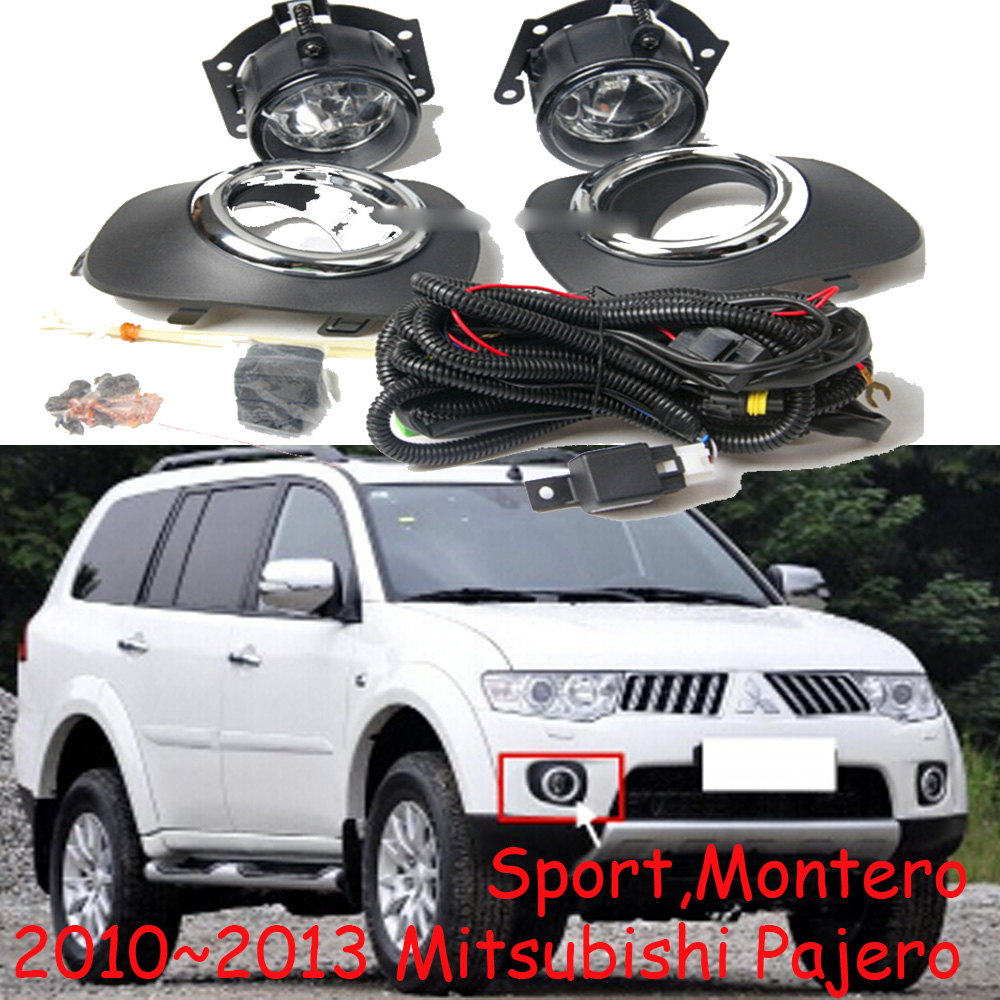 2007/2010~2013 Pajero fog light,Montero,sport,Free ship,halogen,4300K,Triton headlight,ASX,Expo,Eclipse,pajero taillight