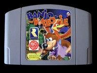 64 קצת משחקים ** בנג 'ו Kazooie (אנגלית PAL גרסה!!)-במבצעי משחקים מתוך מוצרי אלקטרוניקה לצרכנים באתר