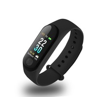 Heart Rate Smart Bracelet Heart Rate Blood Pressure Mode For Xiao Mi M3 Plus Pedometer Waterproof Watch Outdoor Fitness Watch