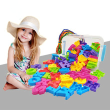 26 English Alphabet Assembling Combination Toy Letters Creative Education Action Figure Building Block Model Gift