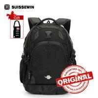 Suissewin Orthopedic School Backpack For Teenage Boys Wenger Laptop Backpack Male Backpack Bag Women Satchel Bag