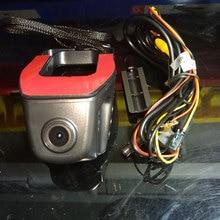 Coche DVR Registrator Rociada Leva de la Cámara Grabadora de Vídeo Digital Videocámara 1080 P Versión de La Noche Novatek 96658 para Audi, BMW, Hyundai