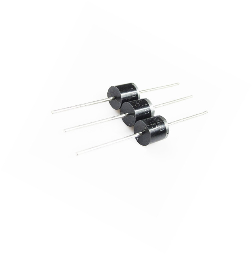 10PCS 10A10 R-6 10A 1000 Volts Silicon Rectifiers 1KV Diodes10A10 NEW