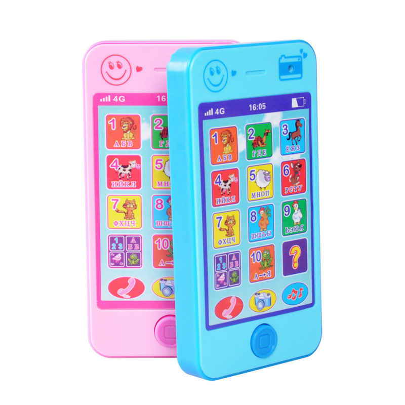 Russian Language Children Mobile Toy Multifunctional Baby Phone Toy Learning Machine Edu ...