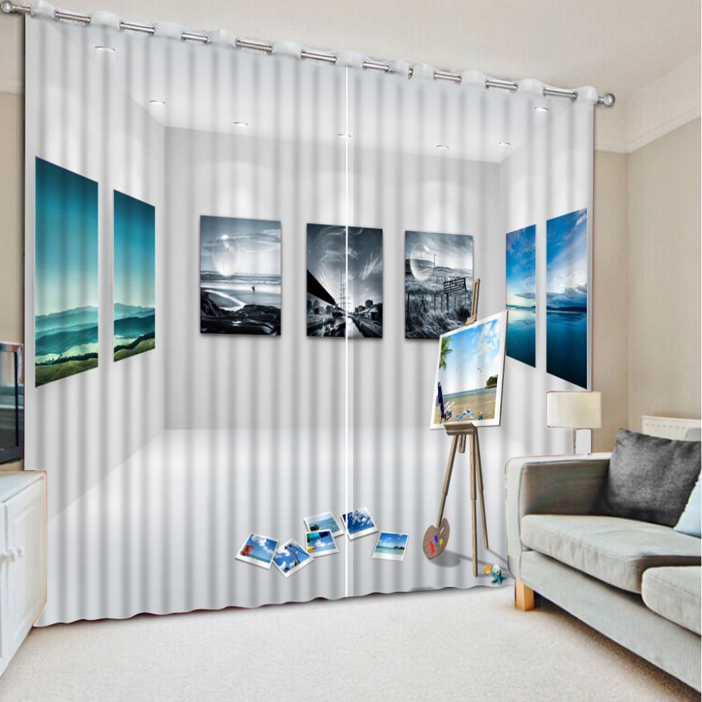 Cafe curtains for living room - Cafe Kitchen Curtains Custom Modern Living Room Curtains Photo Curtains Sheer Cortinas For Bedroom Modern