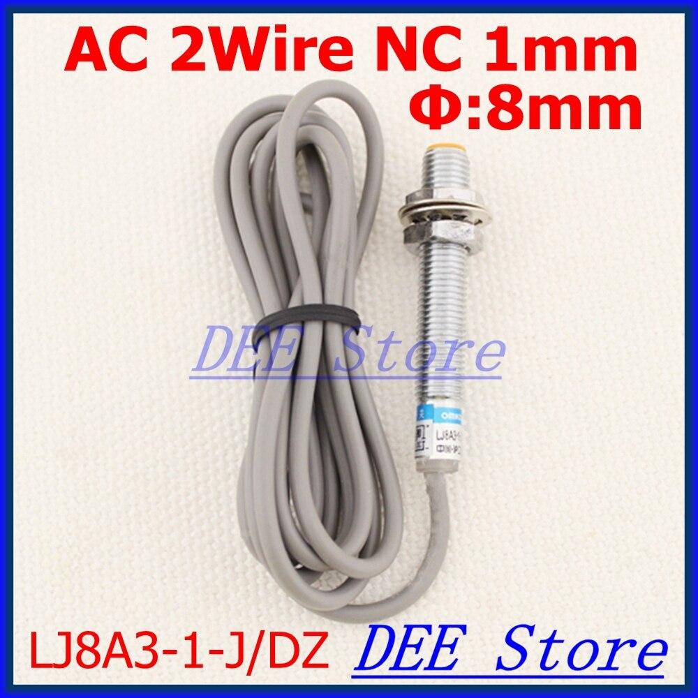Inductive Proximity Sensor Ac90 250v 2 Wire Nc Deteksi Jarak 1 Ac Switch Wiring Mm Diameter 8mm Kedekatan Beralih Lj8a3 J Dz