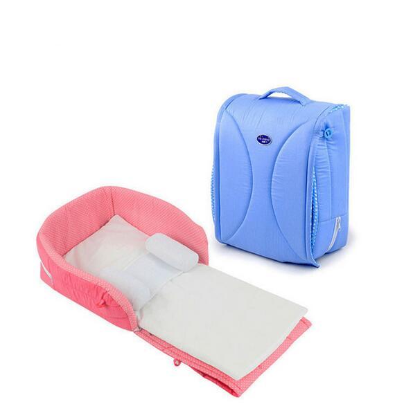 Lit bébé Portable multifonction 70*31*15 tente de lit pour bébé, panier de nuit 100% coton, berceau portable pliable amovible