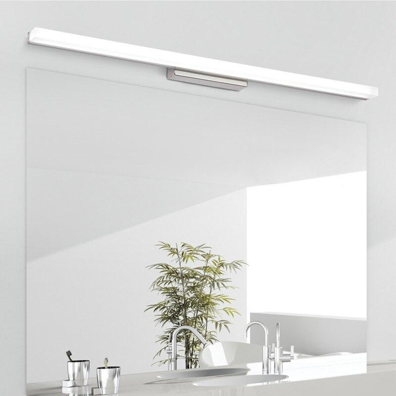 [DBF] Plus LED Miroir Lumière 0.39 M-0.49 M AC110V/220 V Moderne Cosmétique Acrylique Mur monté Mur lampe Salle De Bains Éclairage Étanche