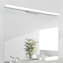 [DBF] Länger LED Spiegel Licht 0,39 M 0,49 M AC110V/220V Moderne Kosmetische Acryl Wand montiert Wand lampe Badezimmer Beleuchtung Wasserdicht