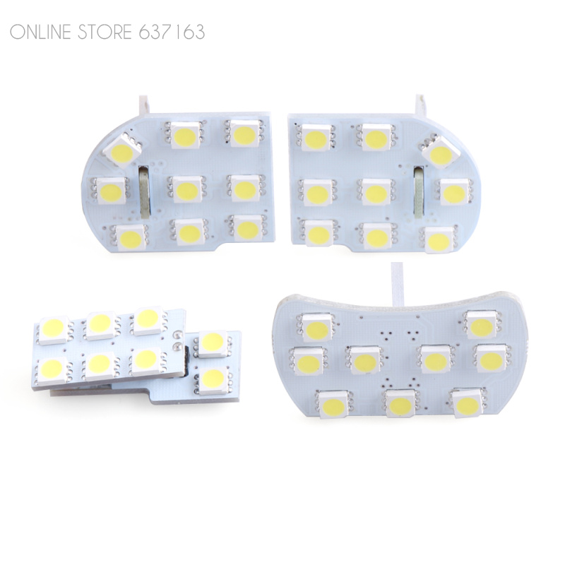 Car Interior LED Lights Dome light Reading Light For Chevy Chevrolet Cruze 2009 2010 2011 2012 2013 2014 Car Styling