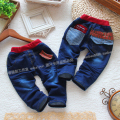 new 2014 kids jeans spring autumn baby pants child casual pants baby boy single tier jeans boys Denim pants