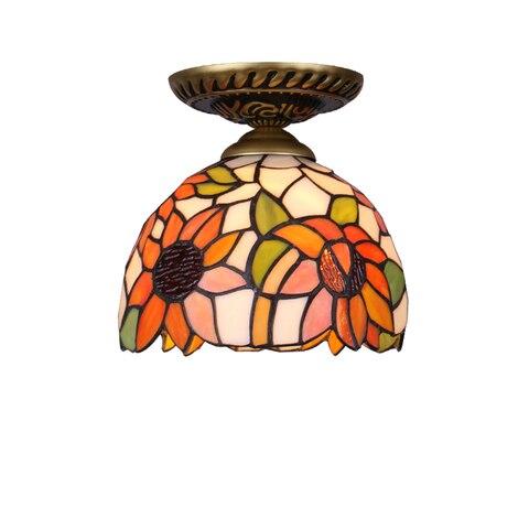vidro criativo moderno conduziu a luz de teto com 7 w e27 lampada do quarto