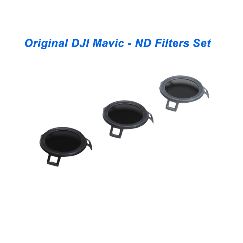 Original DJI Mavic ND Filters Set (ND4/8/16) Camera Lens Filter ND ND4+ ND8 +ND16 Filter Kit for Mavic Pro Drone Accessories original dji mavic air nd filters set nd4 8 16 for mavic air camera drone filter 3pcs filter dji mavic air accessories