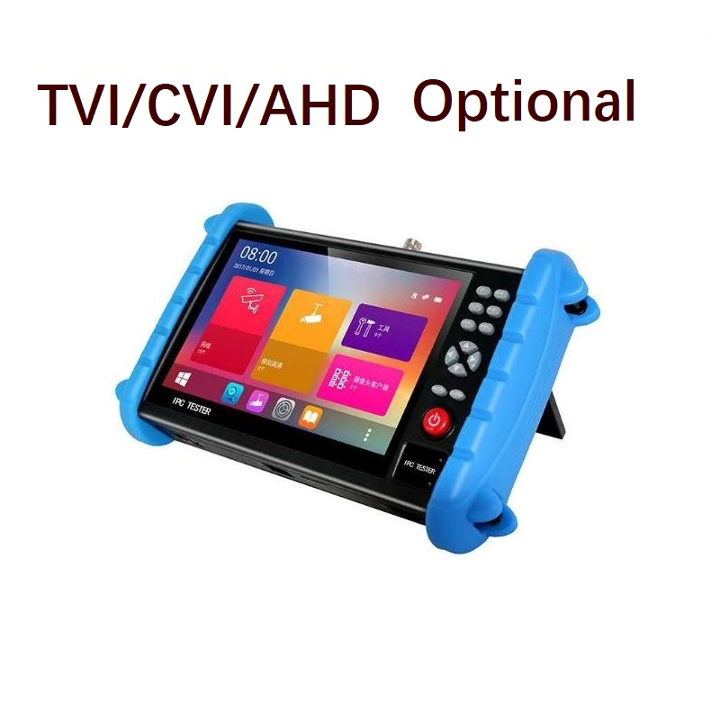 HD1920 1200 IPS H 265 4K IP HD Analog Camera ONVIF WIFI POE 12V OUT WIFI AHD TVI CVI HDMI IN Optional Security CCTV Tester in Transmission Cables from Security Protection