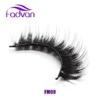 Thick False Eyelashes Mink Lashes Fashion Women Ladies 1 Pair Set Fake Eye Lashes Long Black