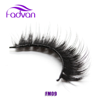 Thick False Eyelashes Mink Lashes Fashion Women Ladies 1 Pair Set Fake Eye Lashes Long Black