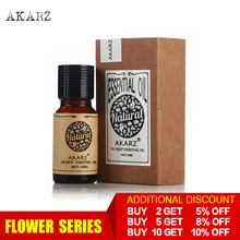 AKARZ Professional Plants Flower series top sale essential oil aromatic for aromatherapy diffusers face body skin care aroma oil недорого