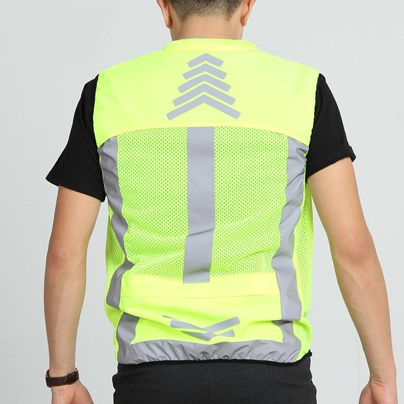 Yansıtıcı Desgin Motosiklet Yansıtıcı Vest Waistcoat Motocross - Motosiklet aksesuarları və ehtiyat hissələri - Fotoqrafiya 3