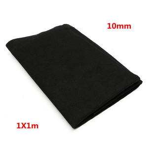 Image 3 - 1m x 1m Thickness 10mm/15mm Home Fabric Black Air Conditioner Activated Carbon HEPA Air Purifiers Accessories Purifier Filter