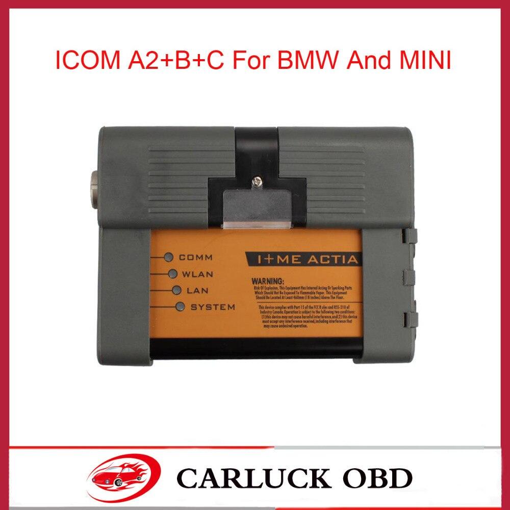 Prix pour Date ICOM A2 + B + C pour BMW ICOM A2 B C De Diagnostic et programmation 3 en 1 ICOM A2 interface aucun logiciel ICOM A2 livraison DHL