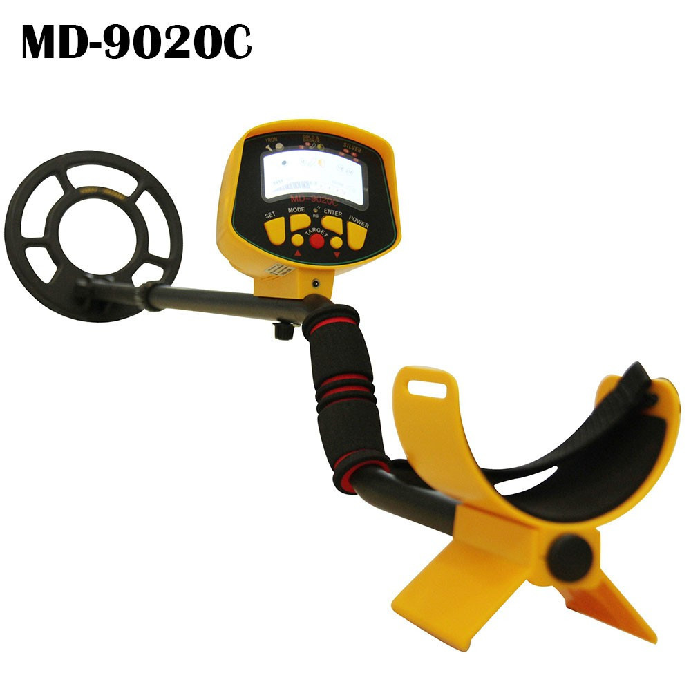 Big Promotion MD-9020C Ground Search Metal Detector Gold Digger Gold Detector Treasure Hunter Free Shipping md 5008 under ground metal detector gold digger coin finder treasure hunter big coil