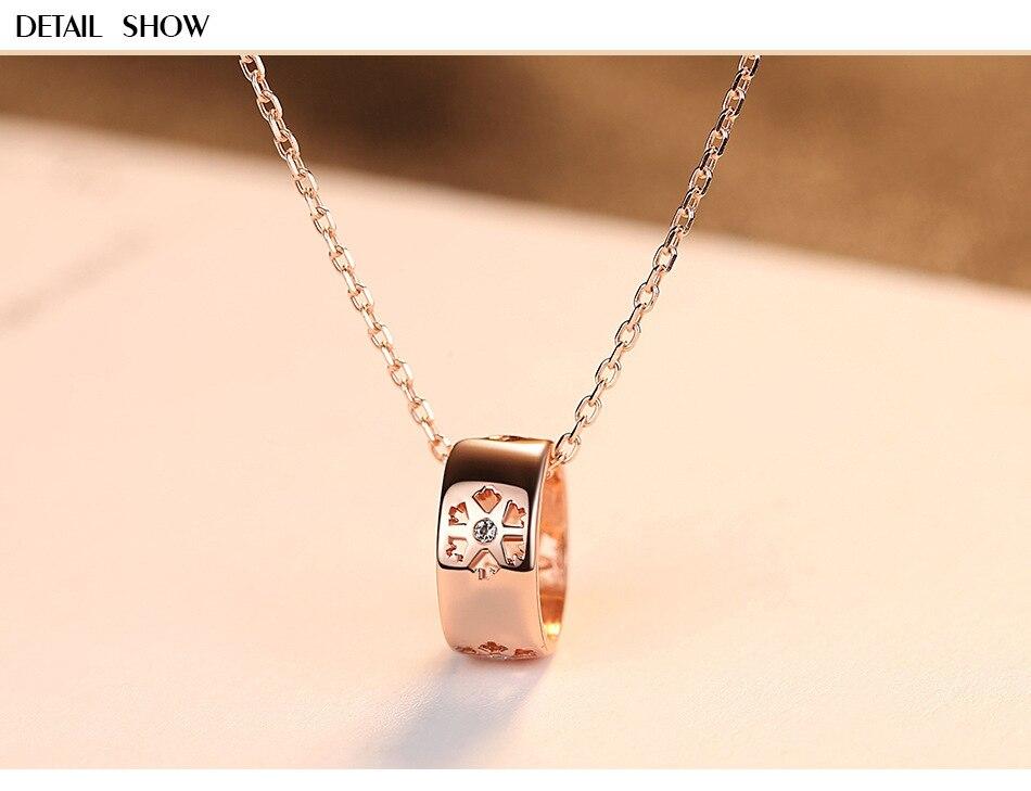 S925 collier en argent sterling simple conception de mode collier femme GL13S925 collier en argent sterling simple conception de mode collier femme GL13