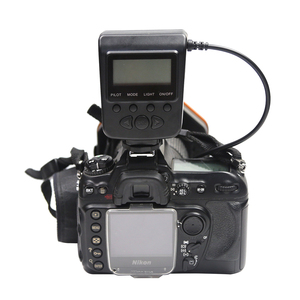 Image 4 - Flash Led Macro pour Canon MarkIII Nikon Olympus Pentax appareil photo reflex objectif de diamètre 52/55/58/62/72/77mm